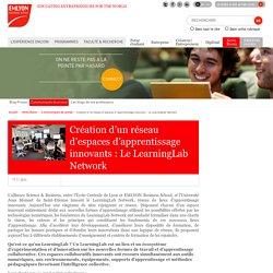Création d'un réseau d'espaces d'apprentissage innovants : Le LearningLab Network
