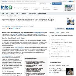 Apprentissage et Seuil-limite lors d'une adoption d'Agile