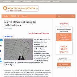 TIC et l'apprentissage des mathématiques