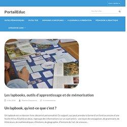 Les lapbooks, outils d'apprentissage et de mémorisation – PortailEduc