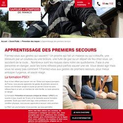 Apprentissage des premiers secours