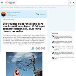 Les troubles d'apprentissage dans une formation en ligne : 10 faits que tout professionnel du eLearning devrait connaître - eLearning Industry France