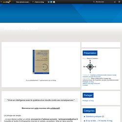 Blog collaboratif pour acteurs insertion prof