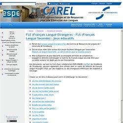CAREL Centre d'Auto apprentissage et de Ressources en Langues de l'IUFM d'Alsace - Université de Strasbourg Alsace