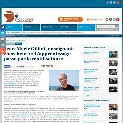 2011 JM Gilliot L'apprentissage passe par la réutilisation