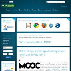 MOOC et apprentissage des langues en ligne, une révolution ?