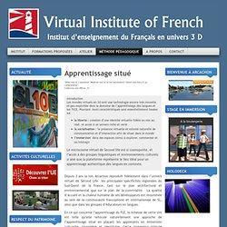 Apprentissage situé - 3D - FLE
