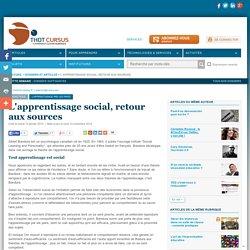 L'apprentissage social, retour aux sources