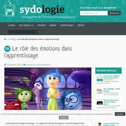 Le rôle des émotions dans l'apprentissage - Sydologie