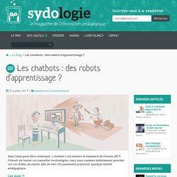 Les chatbots: des robots d'apprentissage? - Sydologie