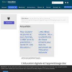 L'éducation digitale et l'apprentissage des langues en Europe grâce aux nouvelles technologies