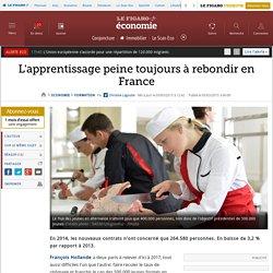 L'apprentissage peine toujours à rebondir en France
