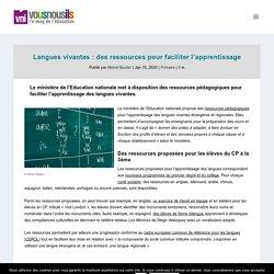 Langues vivantes : des ressources pour faciliter l'apprentissage - VousNousIls