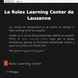 Les Centres de Connaissances et de Culture, un exemple
