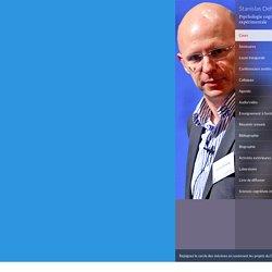 Fondements cognitifs des apprentissages scolaires - Psychologie cognitive expérimentale - Stanislas Dehaene - Collège de France - 06 janvier 2015 09:30