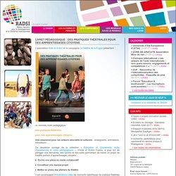 Livret pédagogique : Des pratiques théâtrales pour des apprentissages citoyens - Réseau Aquitain pour le Développement et la Solidarité Internationale