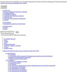 Projet éducatif /ministère de l'éducation/ de plus en plus informatisé/ utilisable?