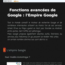 Recherche d'information : fonctions avancées de Google (mooc B2i lycée)