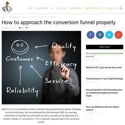 How to approach the conversion funnel properly - Ade Camilleri