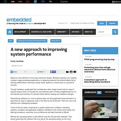 A new approach to improving system performance