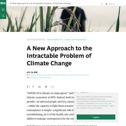 A New Approach to the Intractable Problem of Climate Change