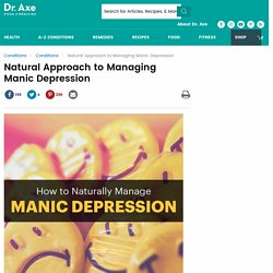 Natural Approach to Managing Manic Depression