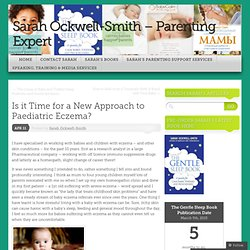 Is it Time for a New Approach to Paediatric Eczema?
