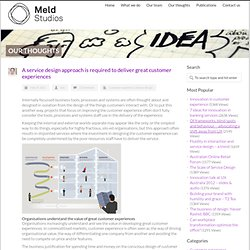 Meld Studios A service design approach is required to deliver great customer experiences - Meld Studios