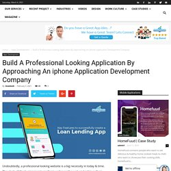 Approaching An iphone Application Development Company?