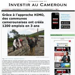 Grâce à l'approche HIMO, des communes camerounaises ont créés 1200 emplois en 3 ans