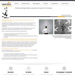Notre approche » Creativite Formation