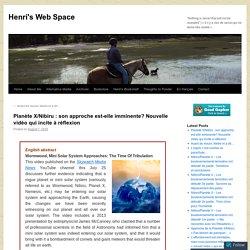 Planète X/Nibiru : son approche est-elle imminente? Nouvelle vidéo qui incite à réflexion