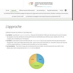 L'approche - Site Officiel de l'Élément Humain France et Pays Francophones