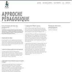 Approche pédagogique - CPE Les Petits Semeurs