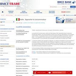 Approcher le consommateur en Italie