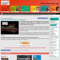 Approfondissement BAFA à l'étranger - CEMÉA Rhône-Alpes