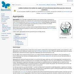 Appropedia - Développement durable