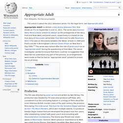 Appropriate Adult - Wikipedia