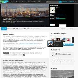 Cartes ouvertes : Cartes ouvertes au Pays de Brest, libération ré appropriation sociale des données géographique, en contribution à OpenStreetMap