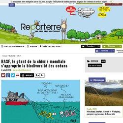 BASF, le géant de la chimie mondiale s'approprie labiodiversité desocéans
