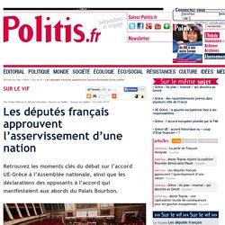 Les députés français approuvent l'asservissement d'une nation