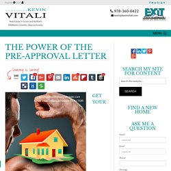 The Benefit of a Pre-Approval Letter