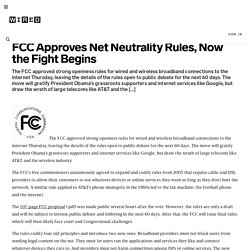 FCC Approves Net Neutrality Rules, Now the Fight Begins | Epicen