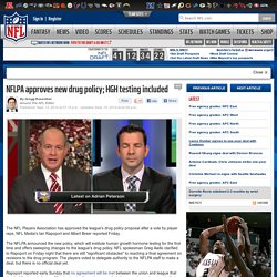 NFLPA approves new drug policy; HGH testing included