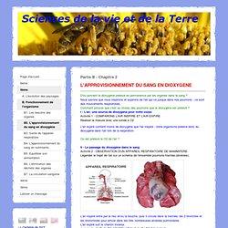 B2. L'approvisionnement du sang en dioxygène - Sciences de la vie et de la Terre