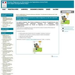 DRAAF AUVERGNE RHONE ALPES 24/01/14 Optimiser l'approvisionnement en fruits et légumes au sein des épiceries sociales et solidaires