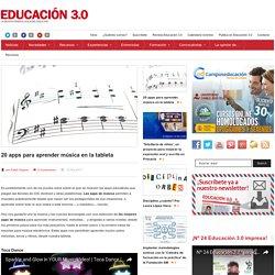 15 apps para aprender música en la tableta