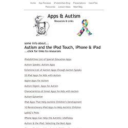 Apps & Autism