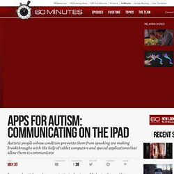 Apps for Autism: Communicating on the iPad