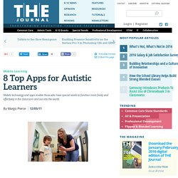 8 Top Apps for Autistic Learners